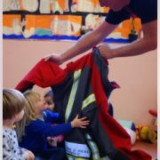 Visit from the Fire Brigade